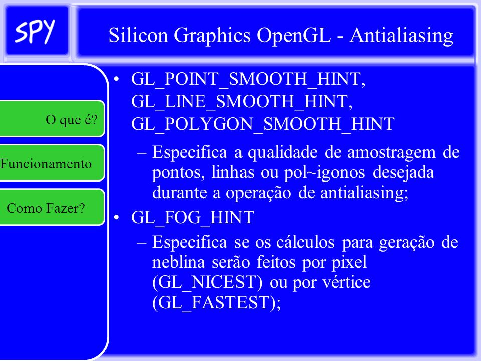 Silicon Graphics OpenGL - Antialiasing