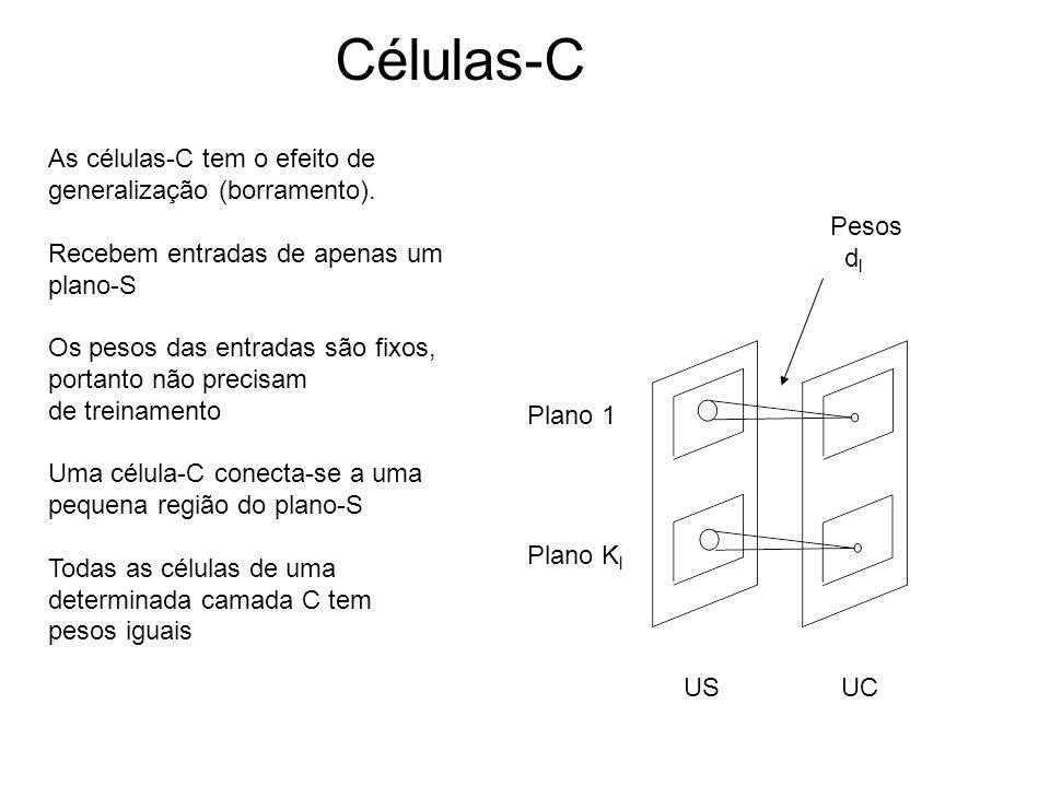 Células-C As células-C tem o efeito de generalização (borramento).