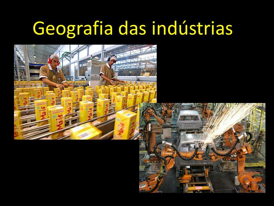 Geografia das indústrias