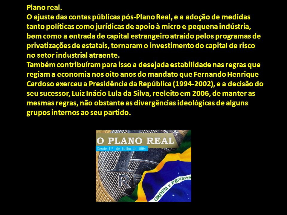 Plano real.
