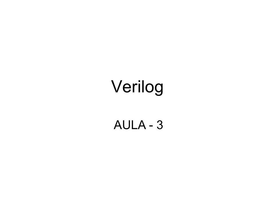 Verilog AULA - 3