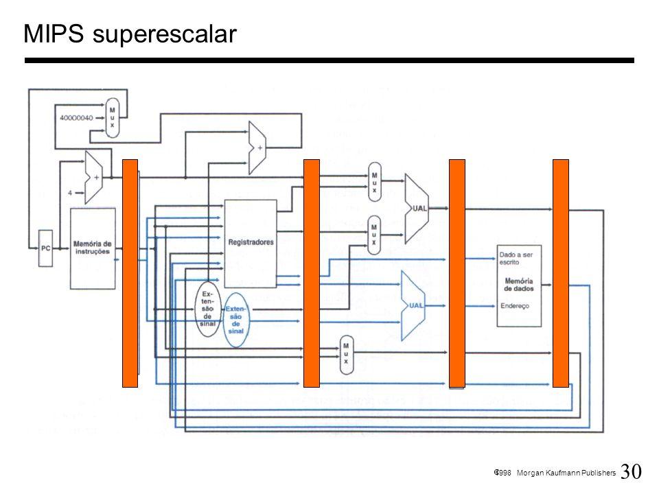 MIPS superescalar