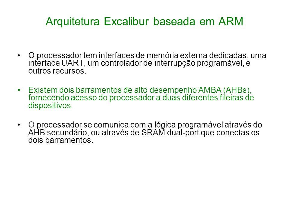 Arquitetura Excalibur baseada em ARM
