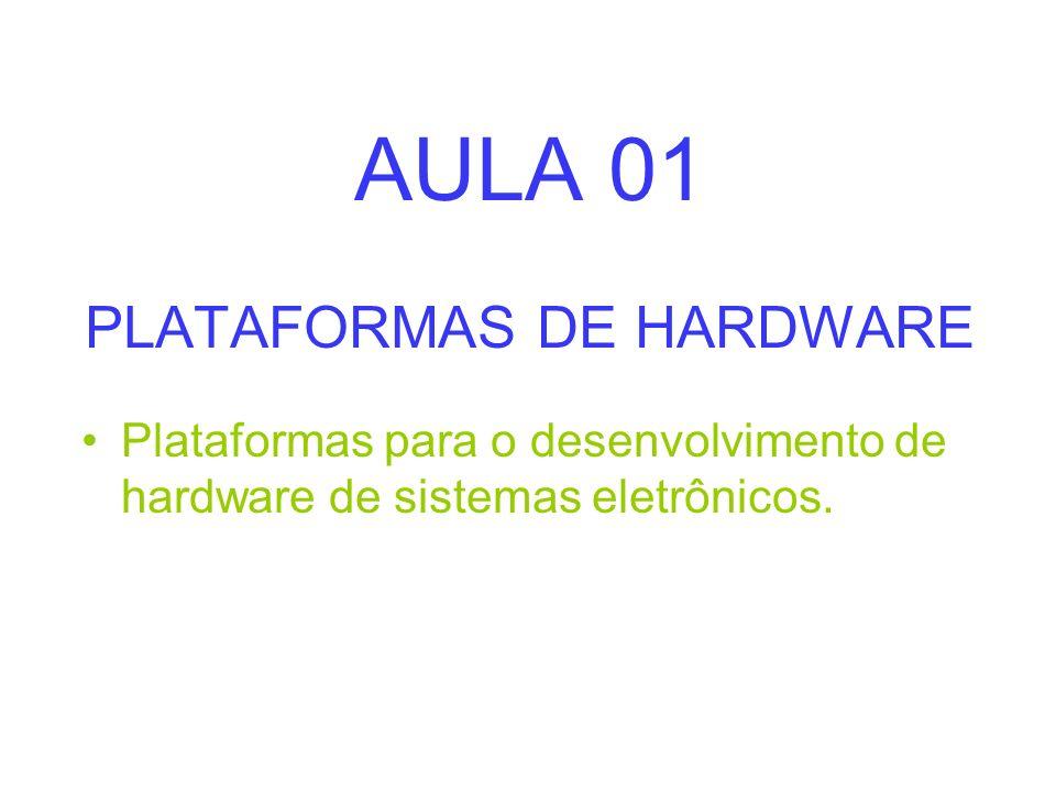 AULA 01 PLATAFORMAS DE HARDWARE
