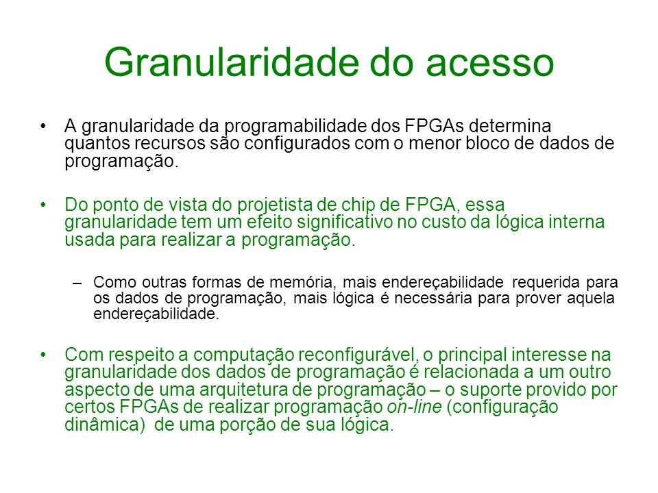 Granularidade do acesso