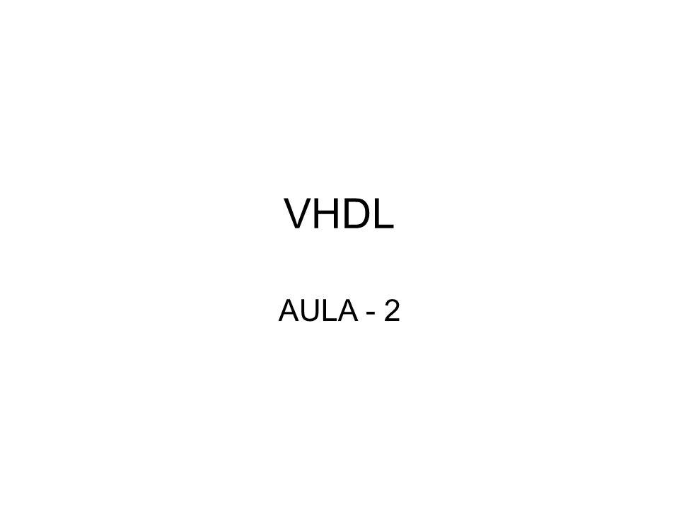 VHDL AULA - 2
