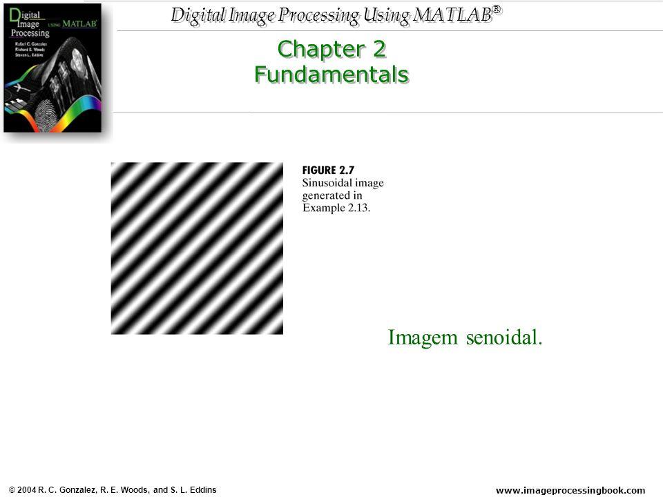 Chapter 2 Fundamentals Imagem senoidal.