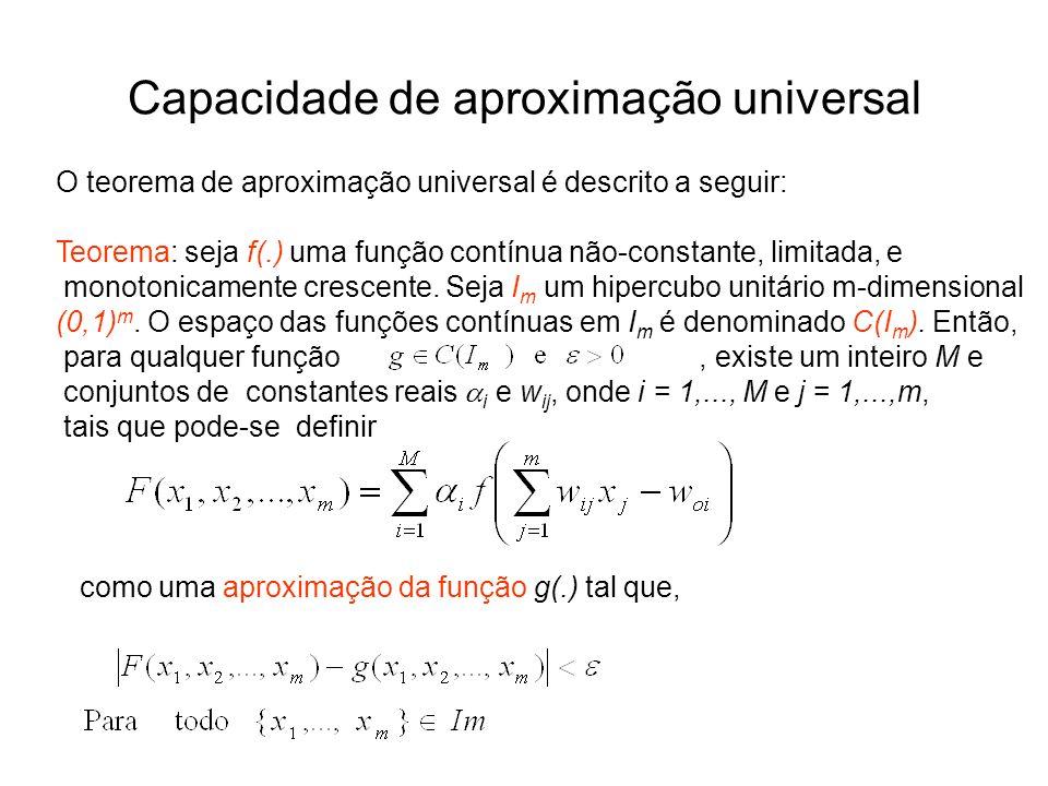 Capacidade de aproximação universal