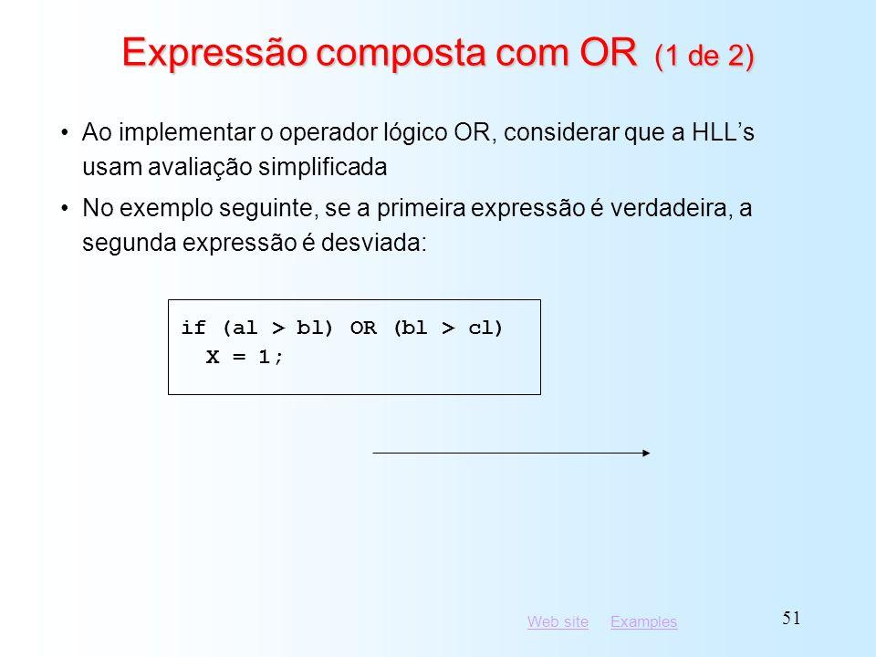 Expressão composta com OR (1 de 2)