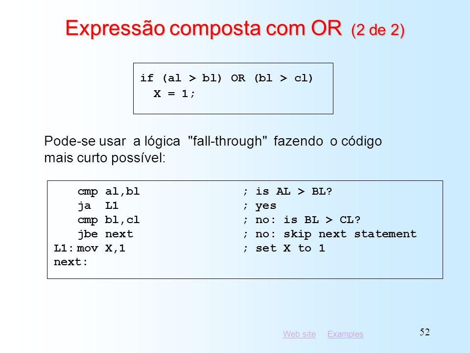 Expressão composta com OR (2 de 2)