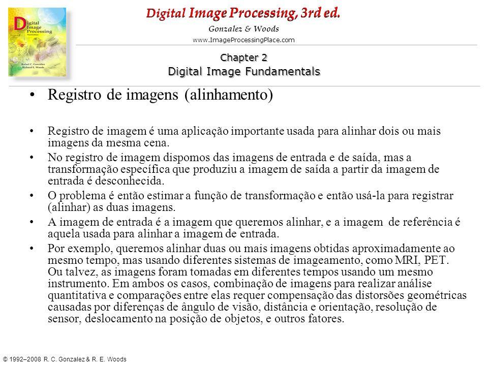 Registro de imagens (alinhamento)