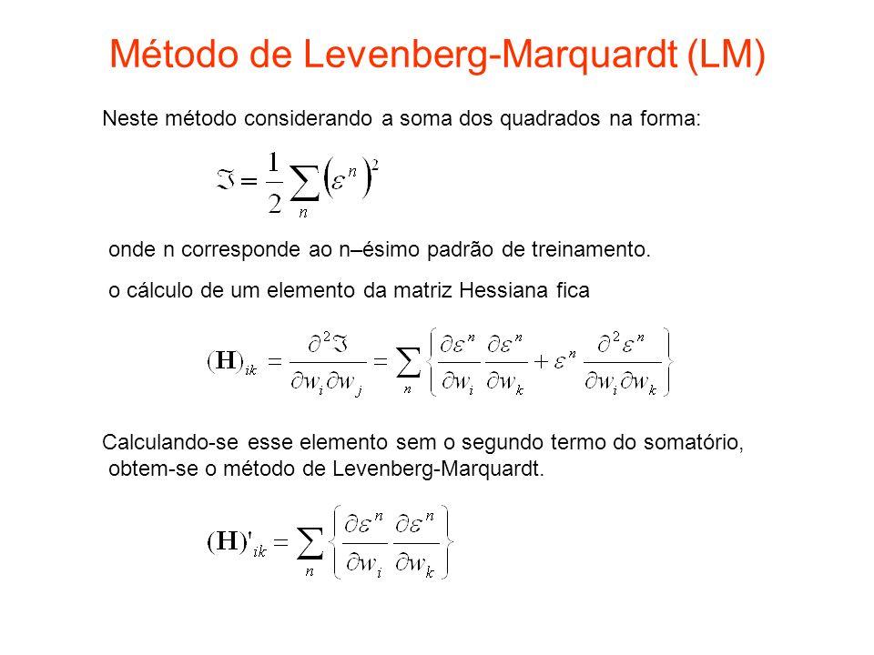 Método de Levenberg-Marquardt (LM)