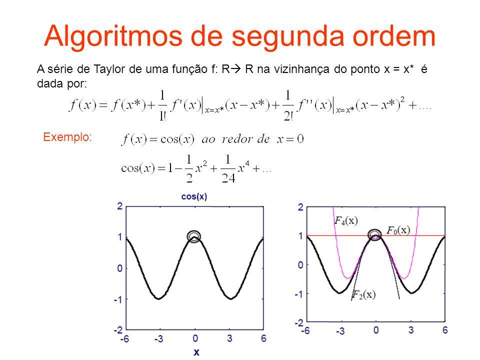 Algoritmos de segunda ordem