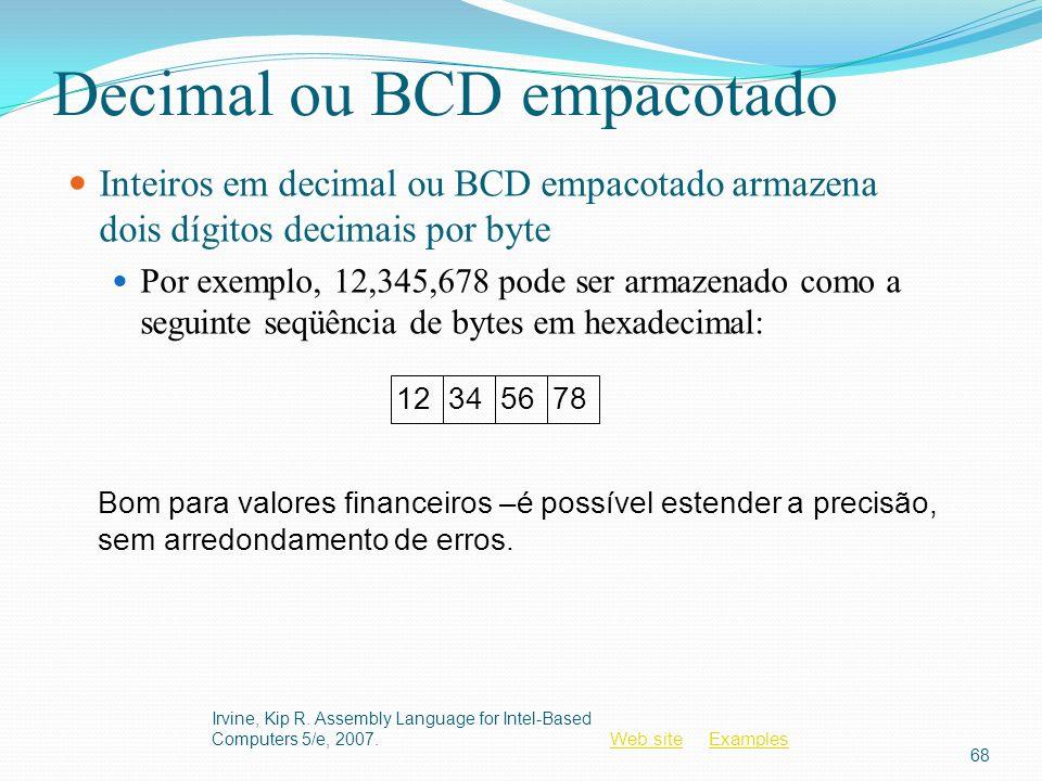 Decimal ou BCD empacotado