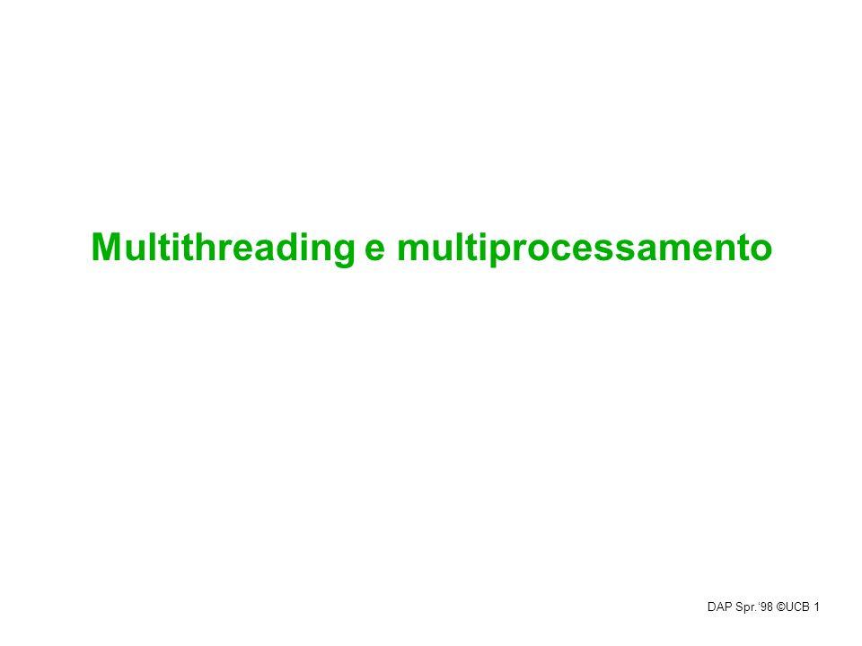 Multithreading e multiprocessamento