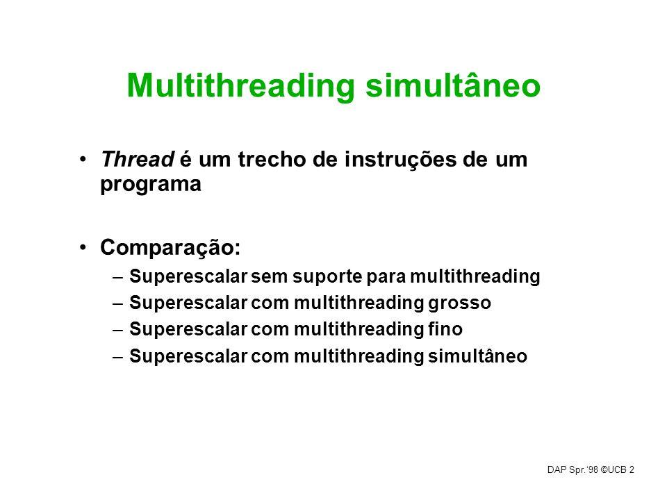 Multithreading simultâneo