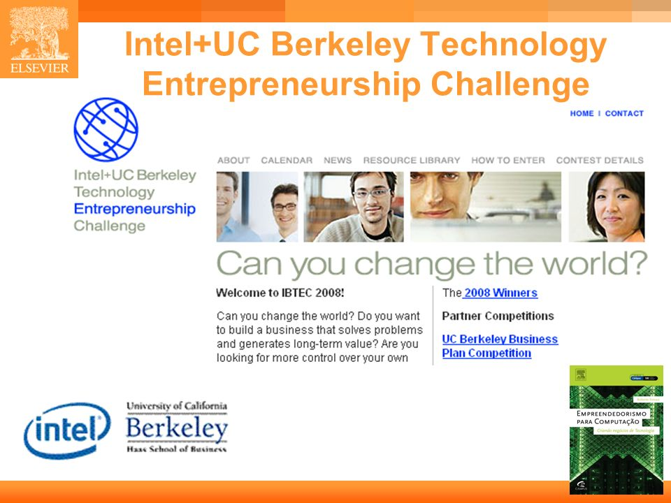 Intel+UC Berkeley Technology Entrepreneurship Challenge