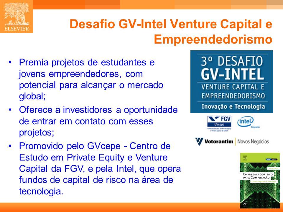 Desafio GV-Intel Venture Capital e Empreendedorismo