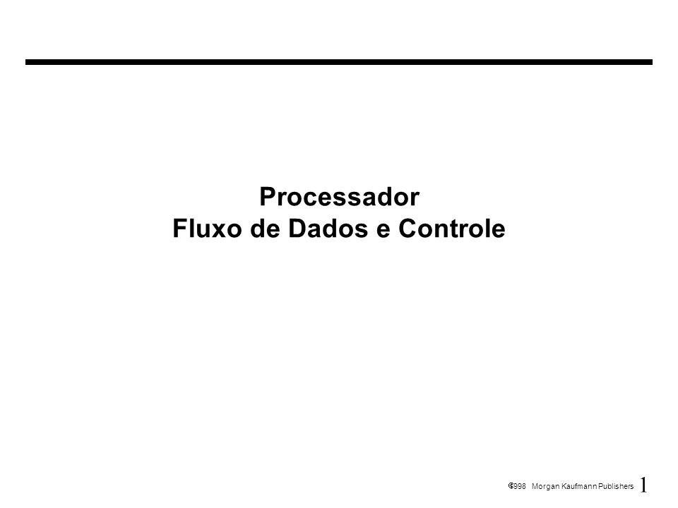 Processador Fluxo de Dados e Controle
