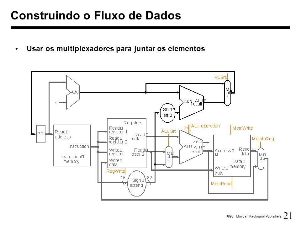 Construindo o Fluxo de Dados