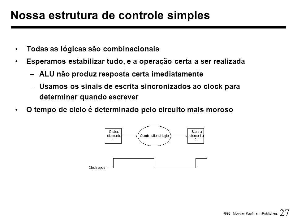 Nossa estrutura de controle simples
