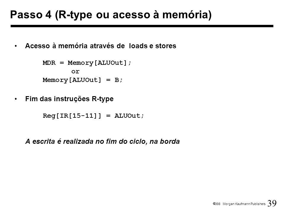 Passo 4 (R-type ou acesso à memória)
