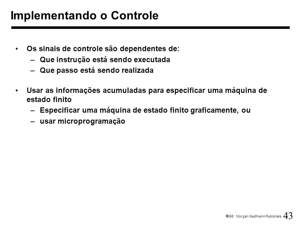 Implementando o Controle