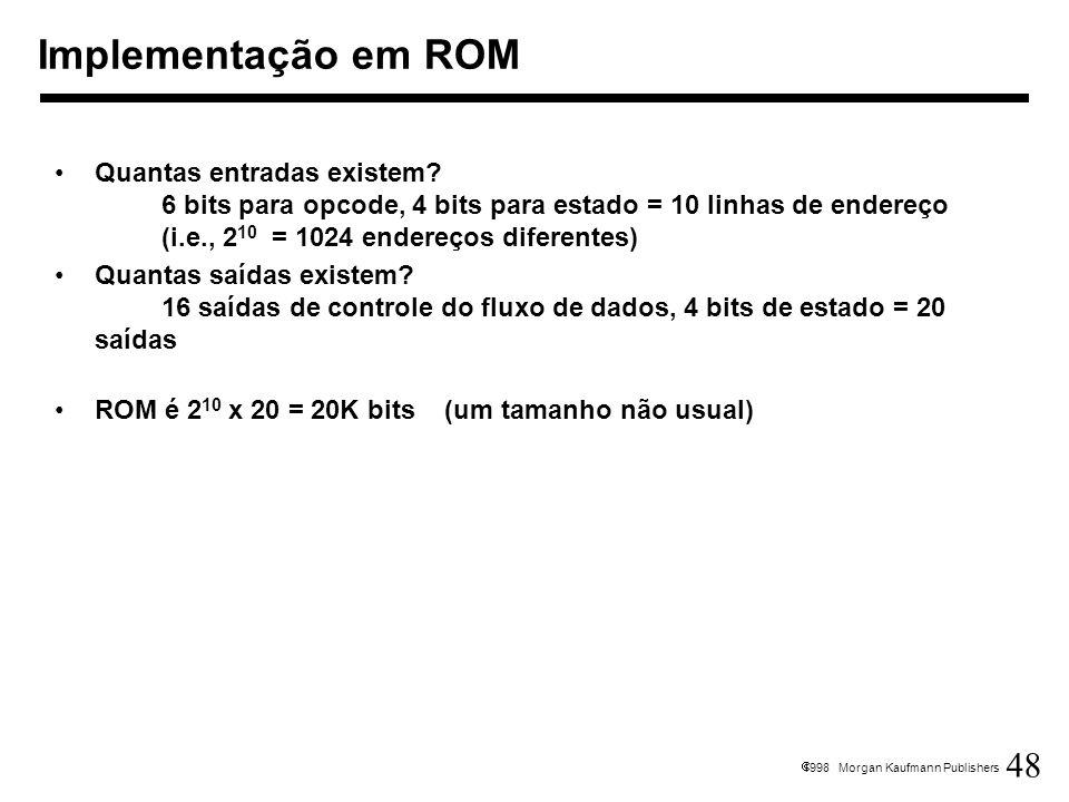 Implementação em ROM