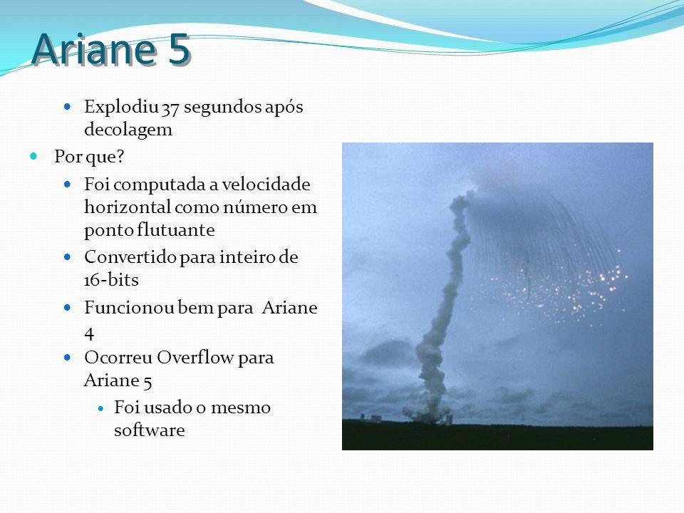 Ariane 5 Explodiu 37 segundos após decolagem Por que