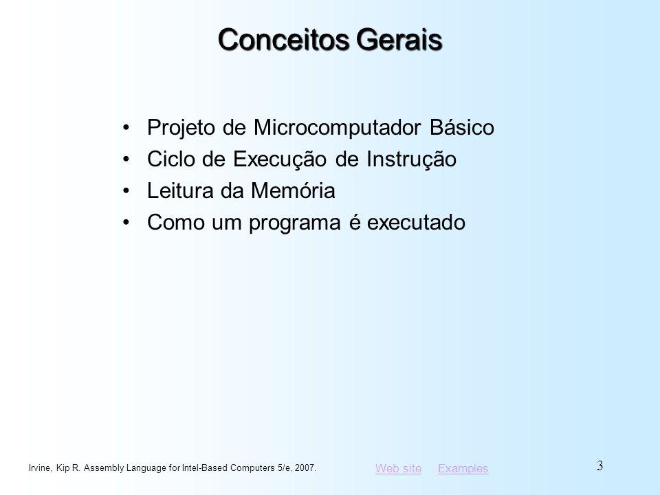 Conceitos Gerais Projeto de Microcomputador Básico