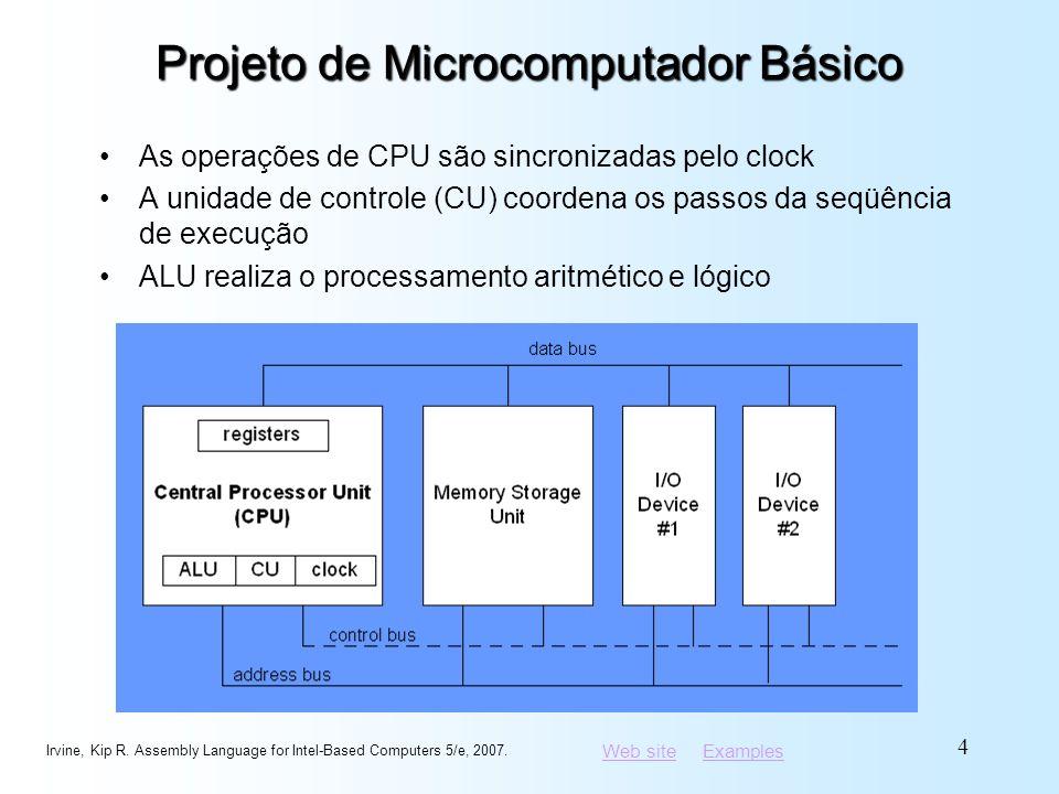 Projeto de Microcomputador Básico