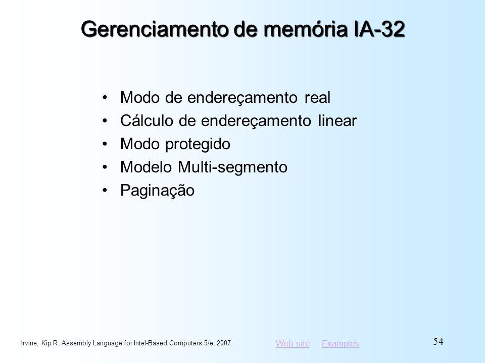 Gerenciamento de memória IA-32