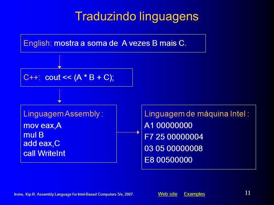 Traduzindo linguagens
