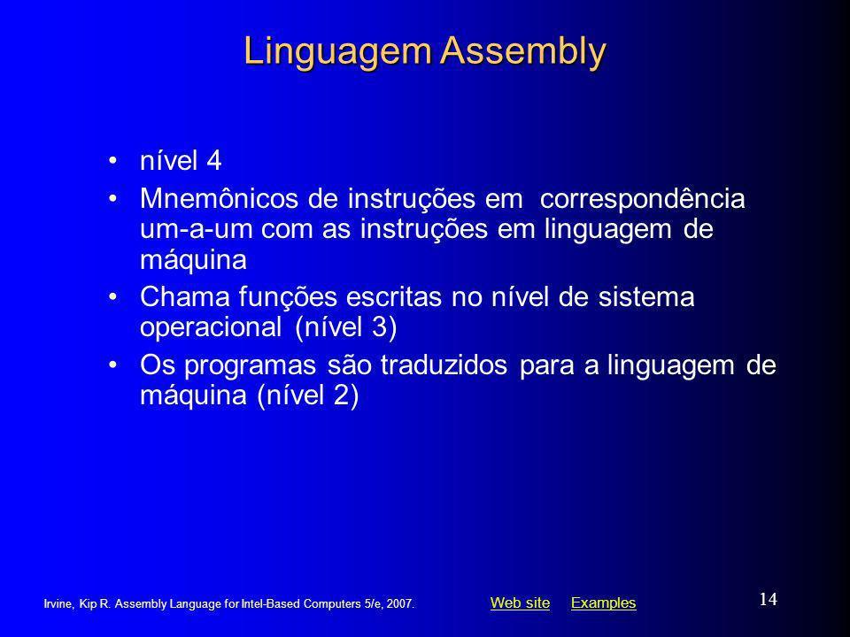 Linguagem Assembly nível 4