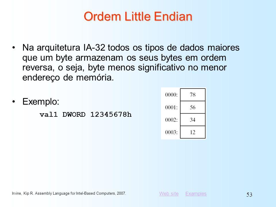 Ordem Little Endian