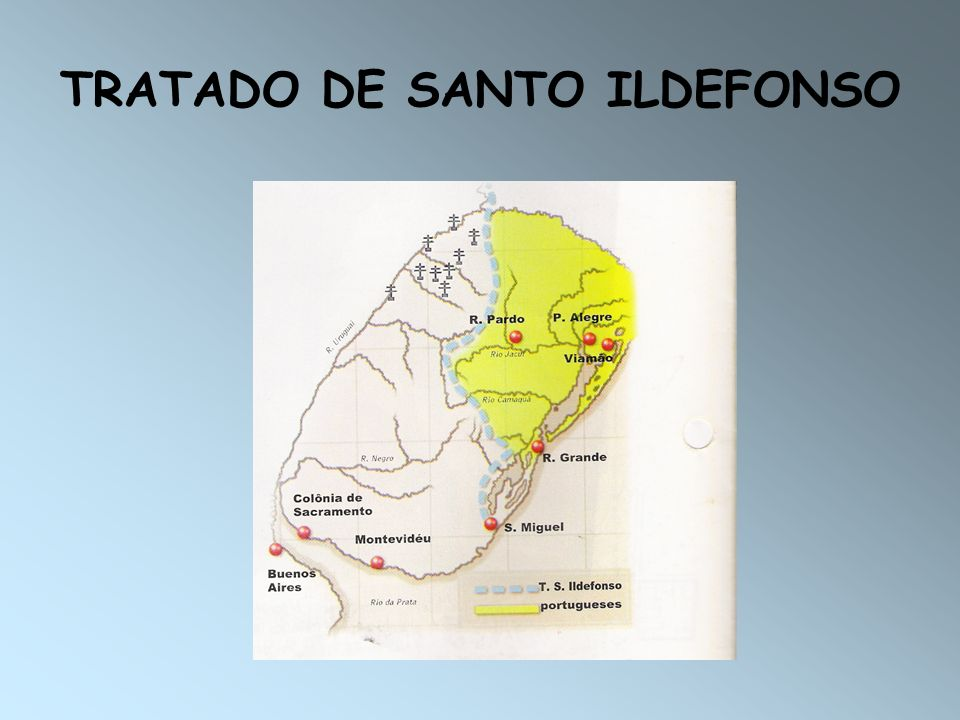 TRATADO DE SANTO ILDEFONSO