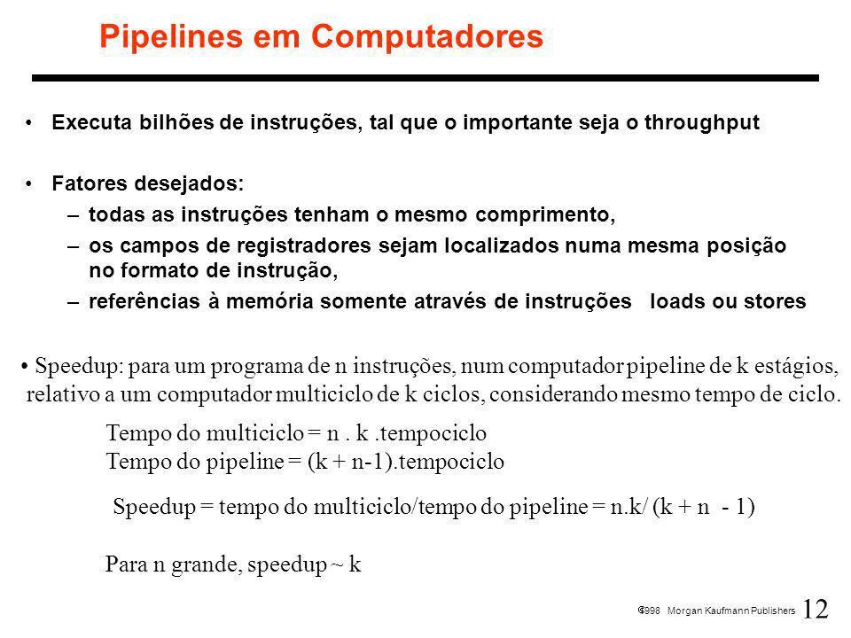 Pipelines em Computadores