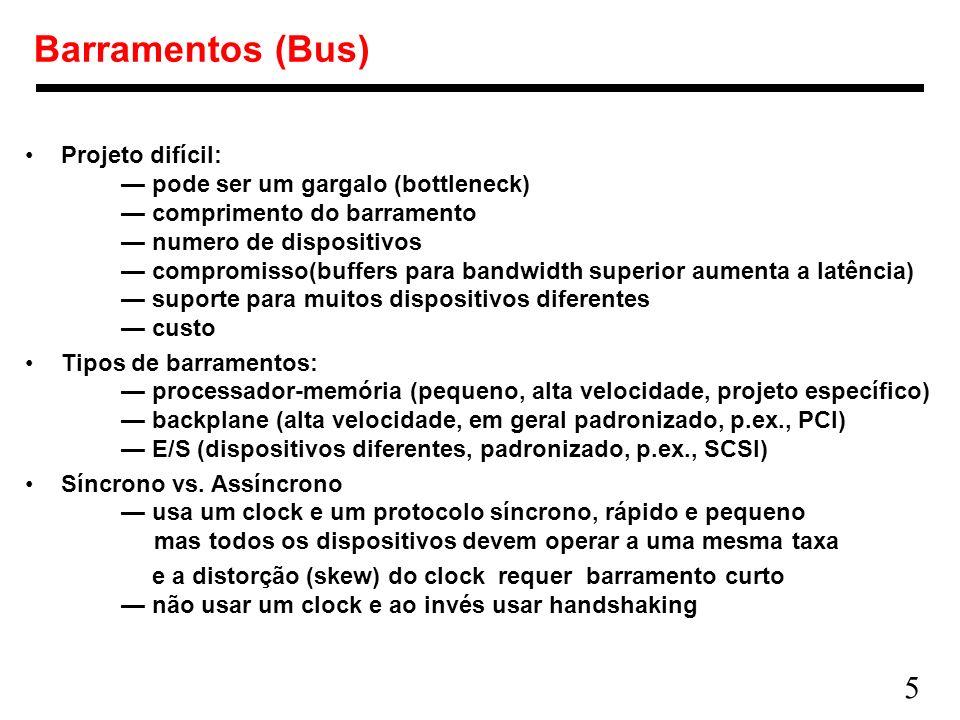 Barramentos (Bus)