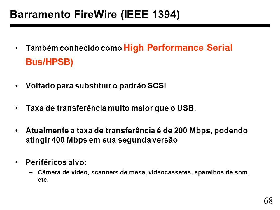 Barramento FireWire (IEEE 1394)