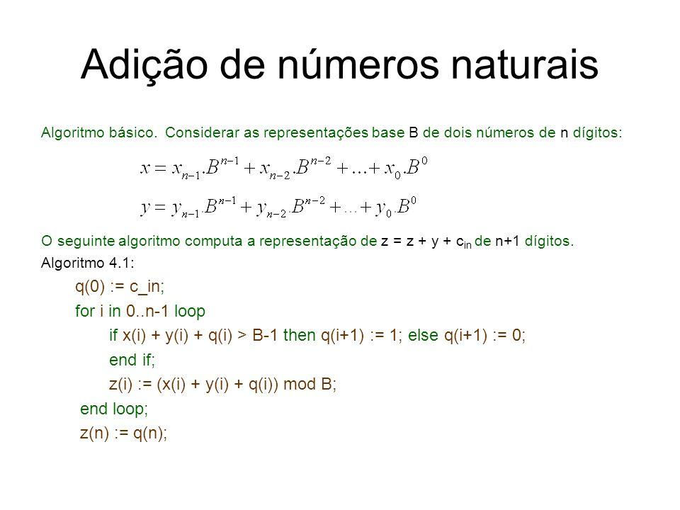 Adição de números naturais