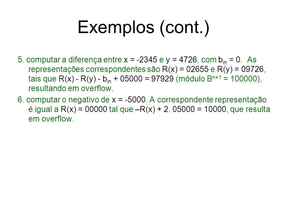Exemplos (cont.)