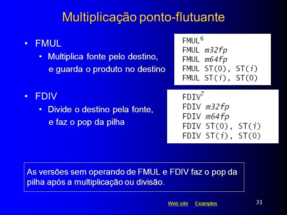 Multiplicação ponto-flutuante