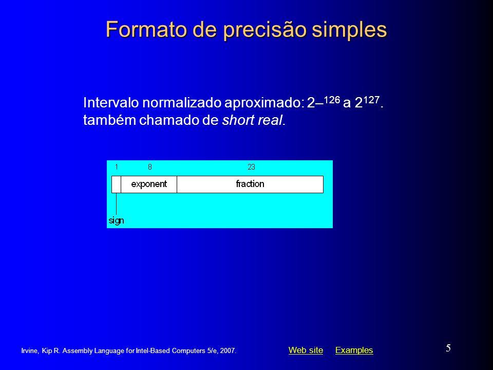 Formato de precisão simples
