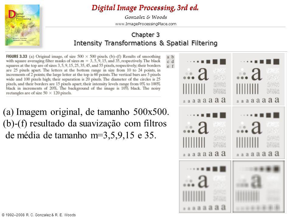 (a) Imagem original, de tamanho 500x500.