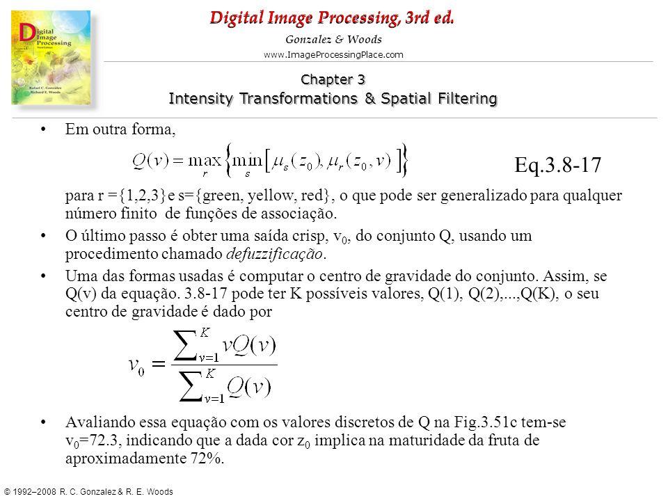 Em outra forma, para r ={1,2,3}e s={green, yellow, red}, o que pode ser generalizado para qualquer número finito de funções de associação.