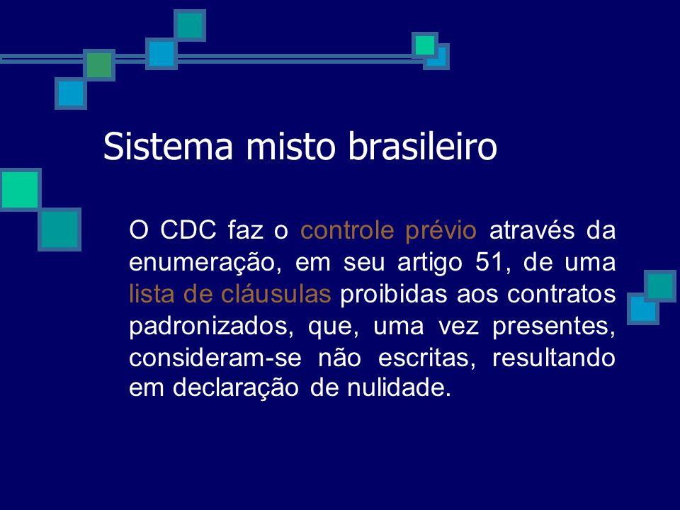 Sistema misto brasileiro