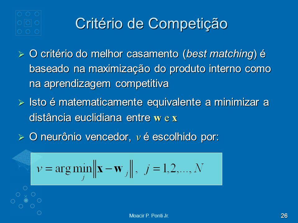 Critério de Competição