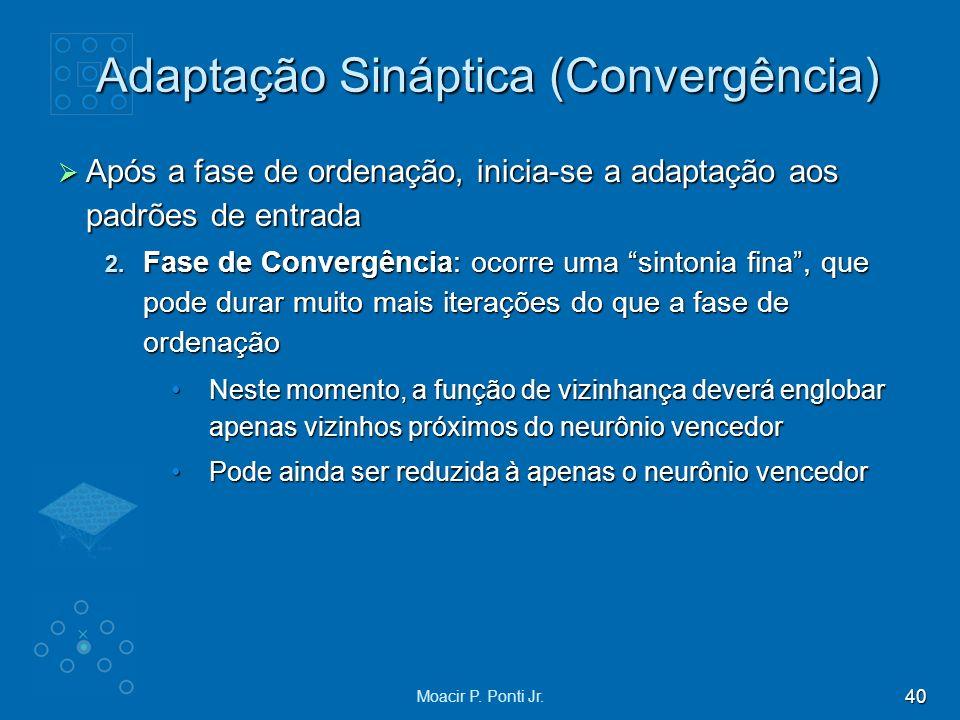 Adaptação Sináptica (Convergência)