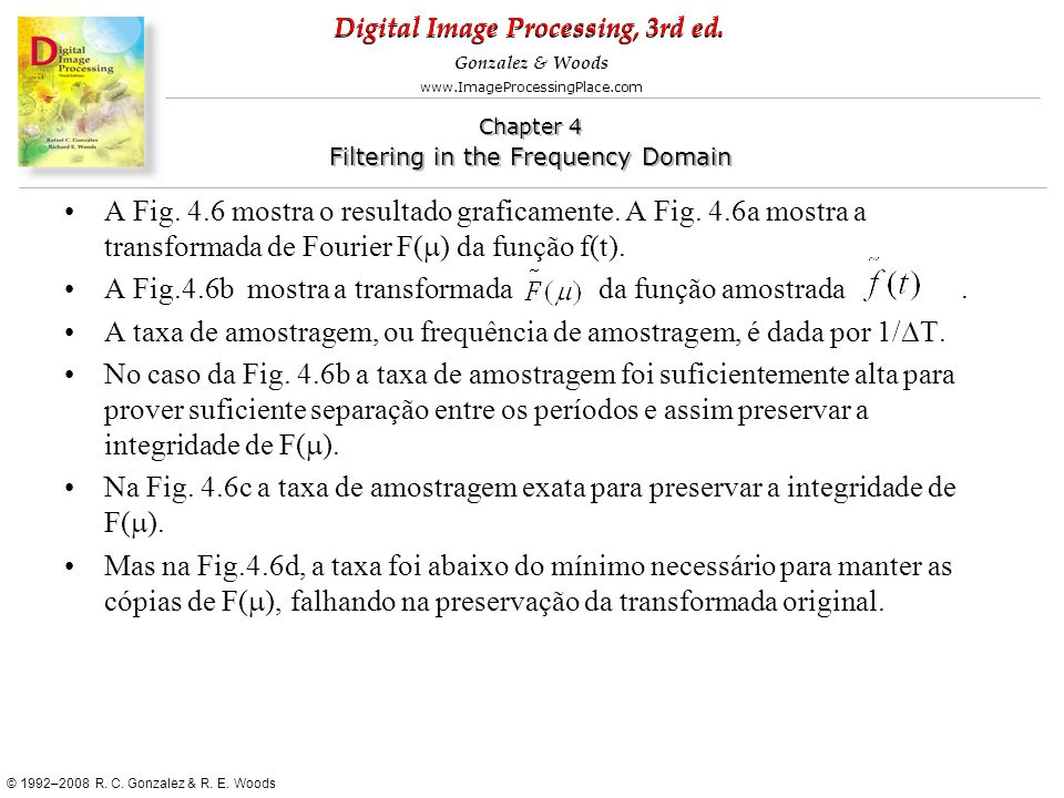 A Fig. 4. 6 mostra o resultado graficamente. A Fig. 4