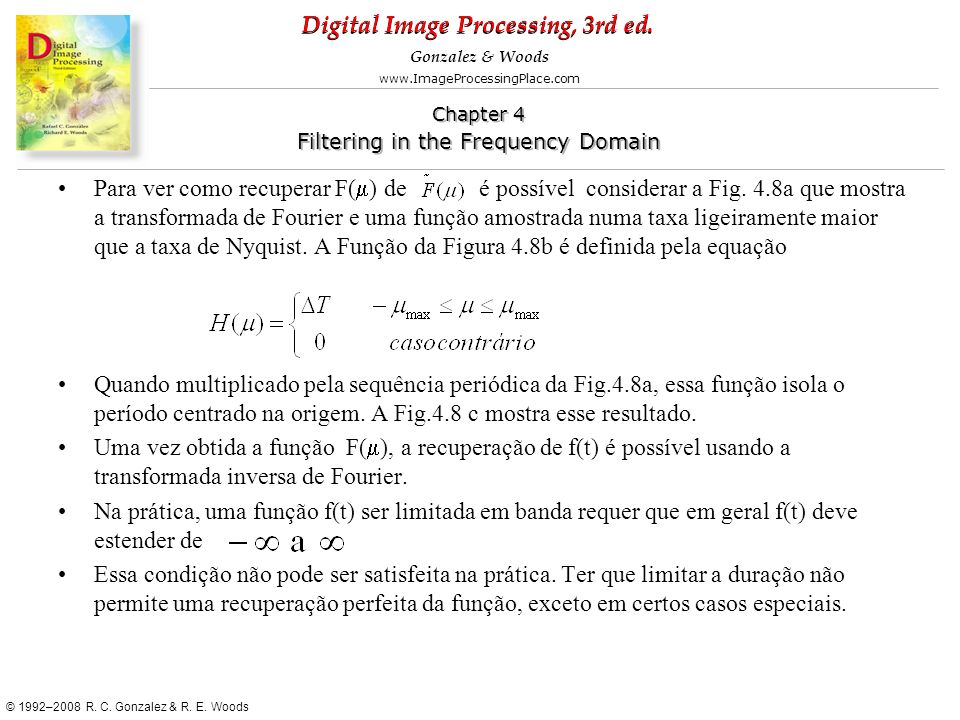 Para ver como recuperar F(m) de é possível considerar a Fig. 4